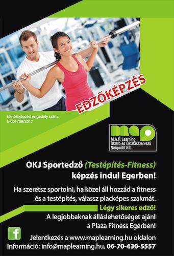 Sportedző képzés (Testépítés-fitness) MAP Learning Kft - Eger